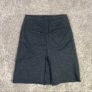 Athleta Ponte Gray Tennis Skirt Size XXS